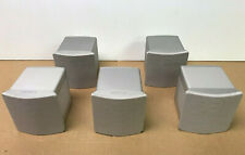 New listing Sony Ss-Ts500 Five (5) Speaker Surround Sound Set - Silver - Work Tested