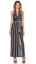Stripes Long Wrap Dresses