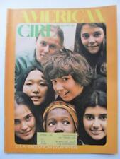 Feb 1971 American Girl Magazine Valentine Girl Scouts Extra Mile Caravan Chicago