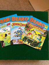 3x Beano comic Library books no 141/155/174