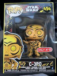 New 2021 Funko POP Target Exclusive Star Wars Retro Series C-3PO