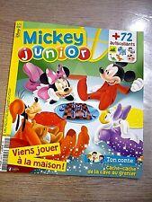 REVUE   MICKEY JUNIOR   N° 424  JANVIER  2021  /  VIENS  JOUER  A  LA  MAISON  !