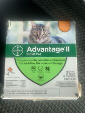 New listing Bayer Advantage Ii for Small Cats 5-9 Lbs - 4 Pack - Flea Treatment Control