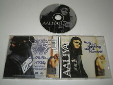 AALIYAH/ÂGE AIN'T NOTHING BUT A NUMBER(JIVE/01241 41533 2)CD ALBUM