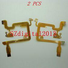 2PCS/ NEW LCD Flex Cable For CANON HV20 HV30 HV40 FHG10 Video Camera