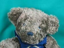 RUSSELL STOVERS CANDIES I LOVE CHOCOLATE BROWN TEDDY BEAR BLUE APRON PLUSH