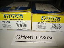2 PCS: MOOG PART #K90681 SWAY BAR LINK KIT