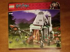 Lego Harry Potter Hagrids Hut 4738 100% complete w/ 4 minifigures & instructions