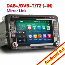 "7""Android 9.0 Autoradio GPS DAB+DVD para Passat Golf 5/6 Touran Seat Altea Skoda"