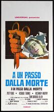 CINEMA-locandina A UN PASSO DALLA MORTE duke,thomas,murphy,allen,JOHNSON