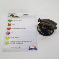 Heroclix Secret Invasion set Gamora #054 Super Rare figure w/card!