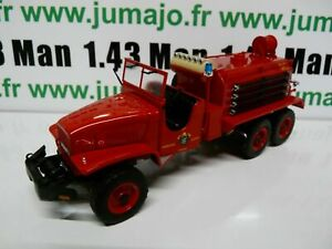 CP15 POMPIERS 1/43 altaya IXO GMC CCKW 353 camion citerne feux forêt Portugal