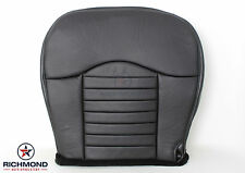 2000 Ford F-150 Harley-Davidson QUAD Driver Side Bottom Leather Seat Cover BLACK