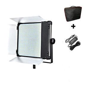 Dison 140W D2000II Photo Video LED Studio Light  Bicolor Soft Light Panel & Bag