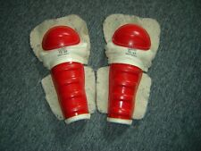 Vintage Hockey Equipment Lot, Shin Guards TITLE TZ-19