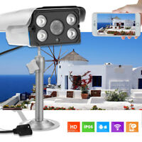 Wireless Waterproof 720P DVR Outdoor IR Night Vision Home CCTV Security Camera