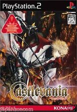 Used PS2 Castlevania: Lament of Innocence Dracula SONY PLAYSTATION JAPAN IMPORT