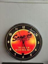 Snap-on Tools lighted clock looks like a vintage Pam clock