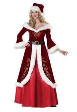 Mrs. St. Nick - Mrs Santa Claus - Velvet - Christmas - Adult XL