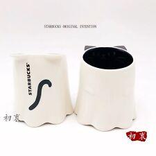 New Starbucks 2019 China Halloween White Dressing Cat 273ml Mug