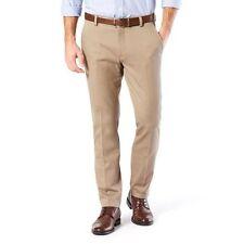 Dockers NWT Timberwolf Easy Khaki Slim Fit Stretch Flat Front Pants 28 X 30 $50
