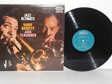 BOBBY HACKETT AND JACK TEAGARDEN Jazz Ultimate LP Vinyl Mono 1958 Capitol Press