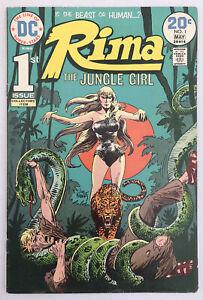 Rima The Jungle Girl #1 - Joe Kubert Art - DC Comics