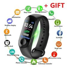 Smart Watch Active Fitness Waterproof Tracker Fitness Heart Rate Running Gym