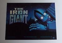 Iron Giant 1999 Original UK Mini Quad Cinema Poster