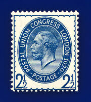 1929 SG437 2½d Pale Blue PUC NCom8(2) Mounted Mint Hinged Cat £35 dayl
