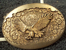 MONTANA SILVERSMITHS SCREAMING DIVING EAGLE DRESS SIZE UNFINISHED BUCKLE[708]