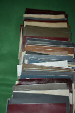 Leather Genuine Cowhide scrap Large variety 6x8 inches pieces or 7+ pounds New