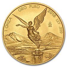 2015 Mexico 1 oz Gold Libertad BU - SKU #87960