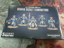 WARHAMMER 40K THOUSAND SONS SCARAB OCCULT TERMINATORS - NEW AND SEALED