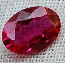 Faceted Ruby - 3mm x 5mm