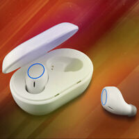 bluetooth 5.0 TWS Wireless Headphones Mini True Stereo Earphones In-Ear Headset