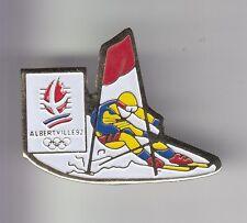 RARE PINS PIN'S .. OLYMPIQUE OLYMPIC ALBERTVILLE 1992 SLALOM SKI COJO 1992 ~17