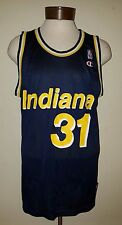 Vintage Reggie Miller #31 Indiana Pacers Champion NBA jersey size 48 made in USA