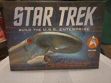 Star Trek  USS Enterprise Paper Model Kit With Lights and Sound MISB
