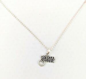 Necklace special sister necklace birthday gift Christmas gift