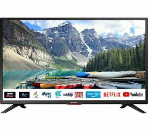 "SHARP BRAND NEW 32"" Smart HD Ready LED TV FreeView NetFlix Amazon x3 HDMI x1 USB"