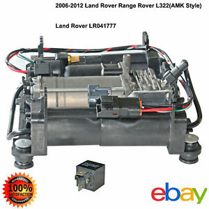 Air Suspension Compressor Pump For L322 Range Rover Land Rover 4.4/5.0L V8 06-12