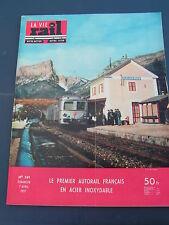 vie du rail 1957 591 SAINT MARTIN CLUZE LAMATIVIE RAMBERT D'ALBON BINIC PAIMPOL
