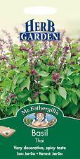 Mr Fothergills - Pictorial Packet - Herb - Basil Thai - 300 Seeds