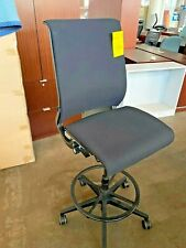 Drafting Chairstool By Steelcase Think In Black Color