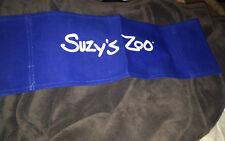 "Suzy'S Zoo Sign Advertising Banner 21"" Suzy Ducken~Canvas Blue Display spofford"