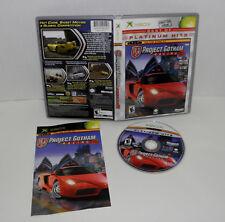 Project Gotham Racing 2 (Platinum Hits) (Microsoft Xbox, 2004)
