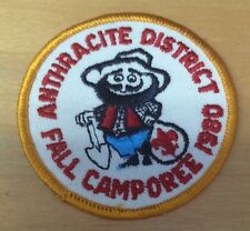 BOY SCOUTS ANTHRACITE DISTRICT 1980 FALL CAMPOREE  PATCH  NEW