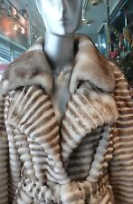 Winter MINK FUR COAT Champagne Beige Crystals  WAS $4450  NOW $2850
