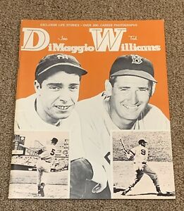 Vintage 1964 Joe DiMaggio & Ted Williams Magazine with Over 200 Great Photos